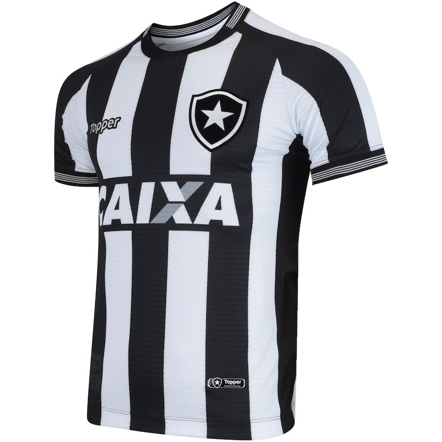 Camisa do Botafogo I 2018 Topper - Masculina 922c4292a137e
