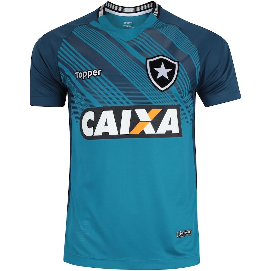 c283cc7a9bdd7 Camisa de Goleiro do Botafogo I 2018 Topper - Masculina