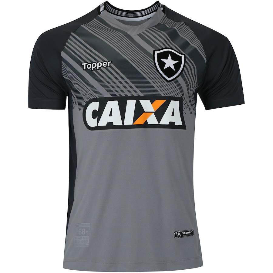 Camisa de Goleiro do Botafogo II 2018 Topper - Masculina d9744f2faa7fc
