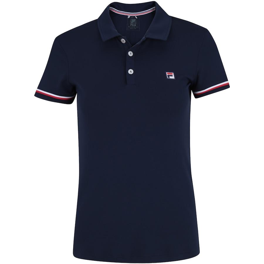 90427e6e0b Camisa Polo Fila Soft - Feminina