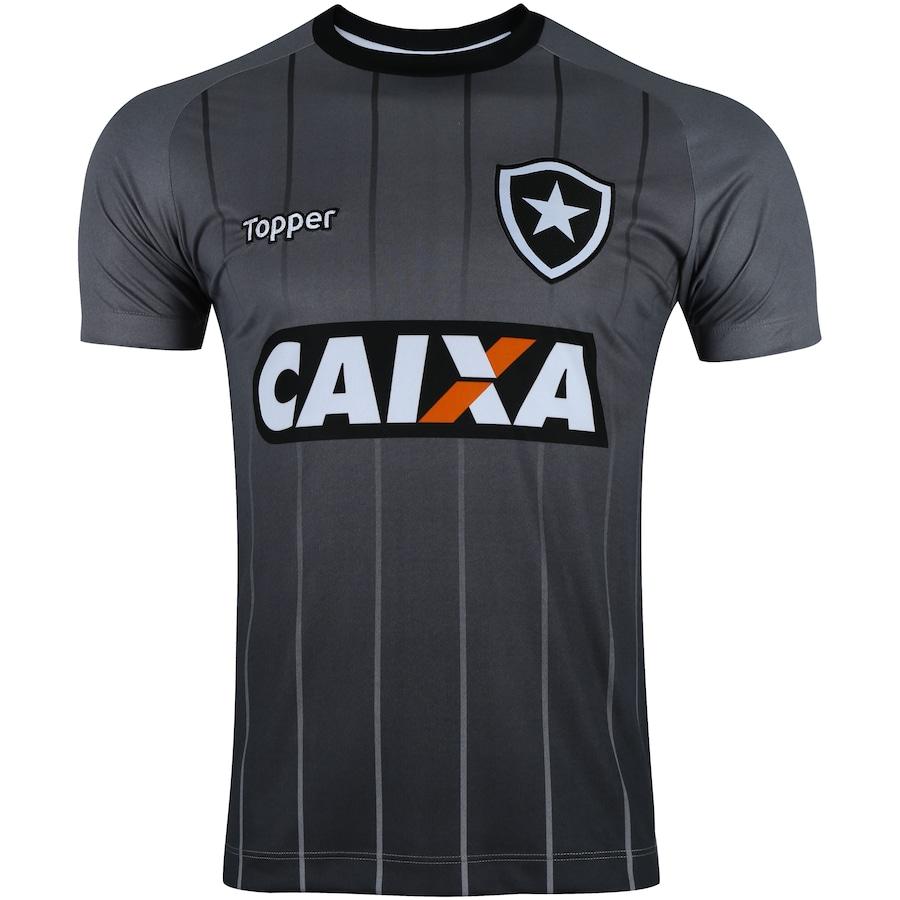 Camisa de Treino do Botafogo Comissão Técnica 2018 Topper - Masculina 6e26e86b3920d