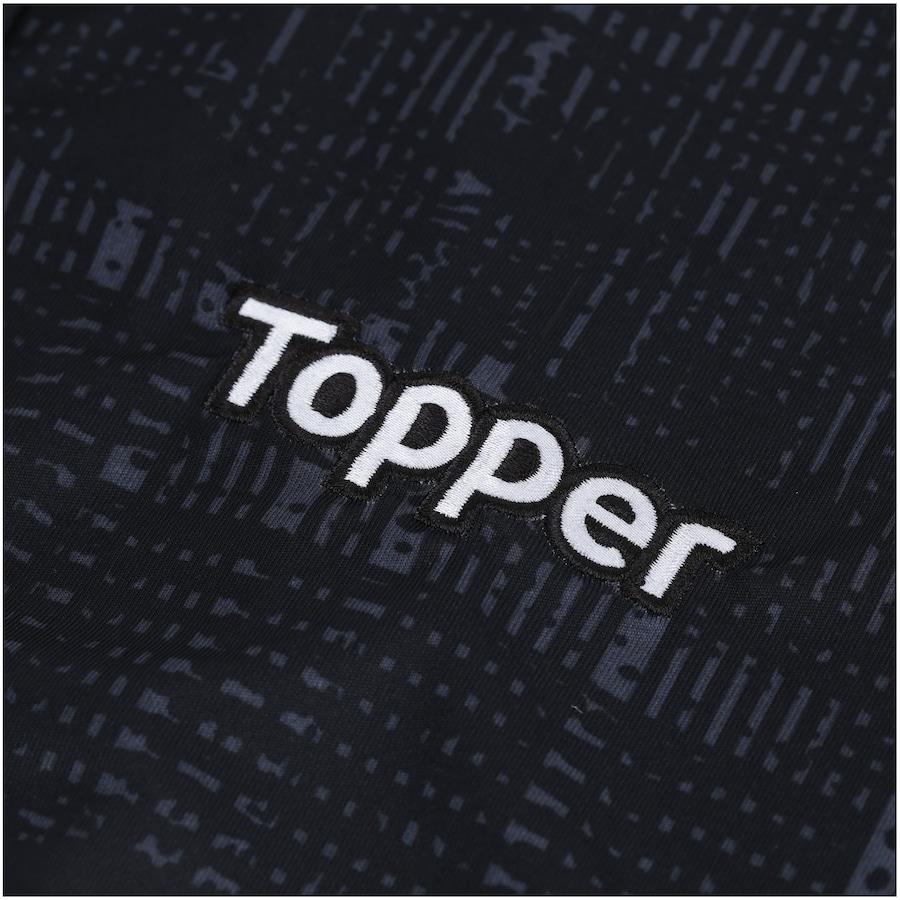 Camisa do Botafogo Aquecimento 2018 Topper - Masculina 7e6177c2279