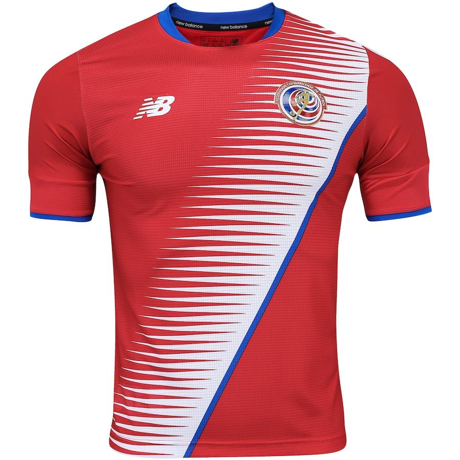 b6658dbfa6 Camisa Costa Rica I 2018 New Balance - Masculina