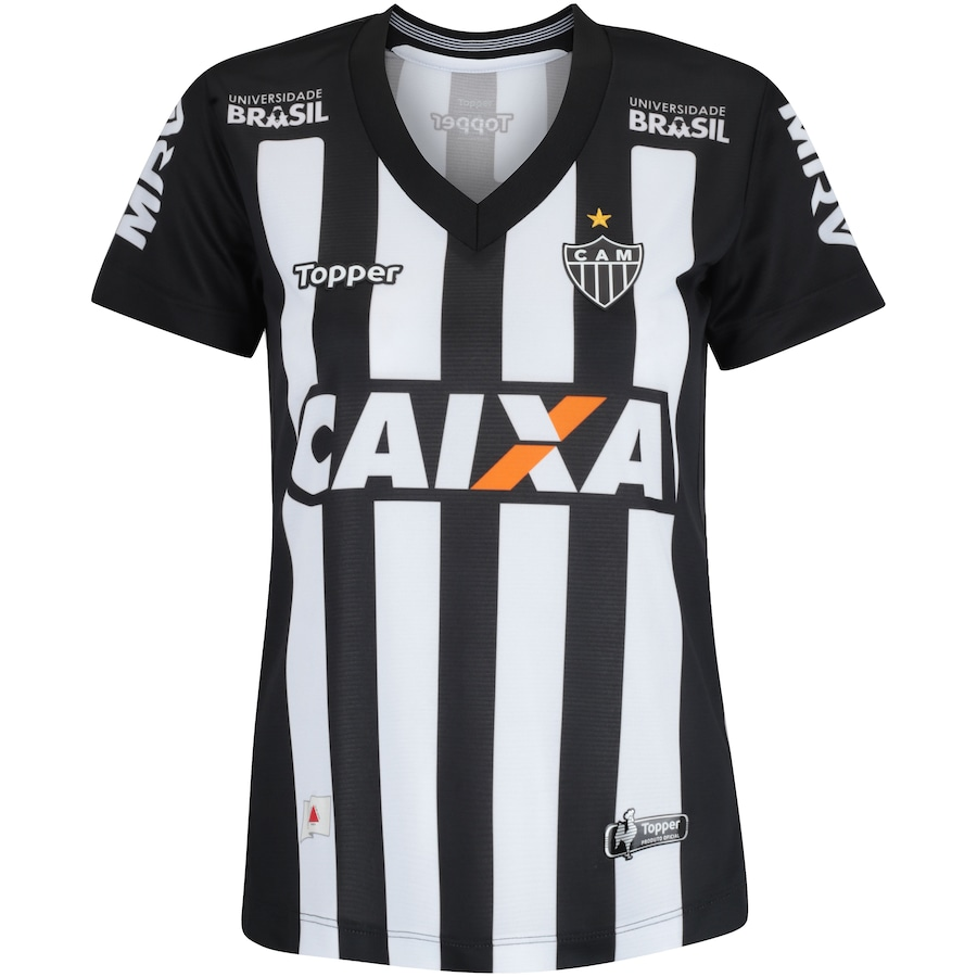 1d4516f33f Camisa do Atlético-MG I 2018 Topper - Feminina