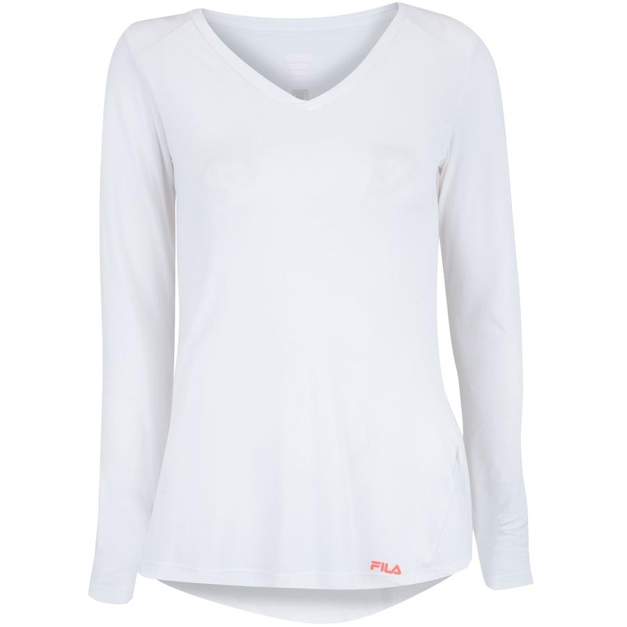 6da9ea9915 Camiseta Manga Longa Fila Bio II - Feminina