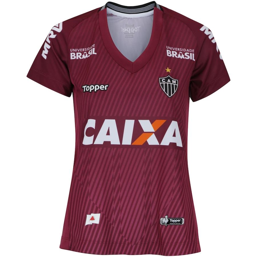 52bfdc60ce9fb Camisa de Goleiro do Atlético-MG II 2018 Topper - Feminina