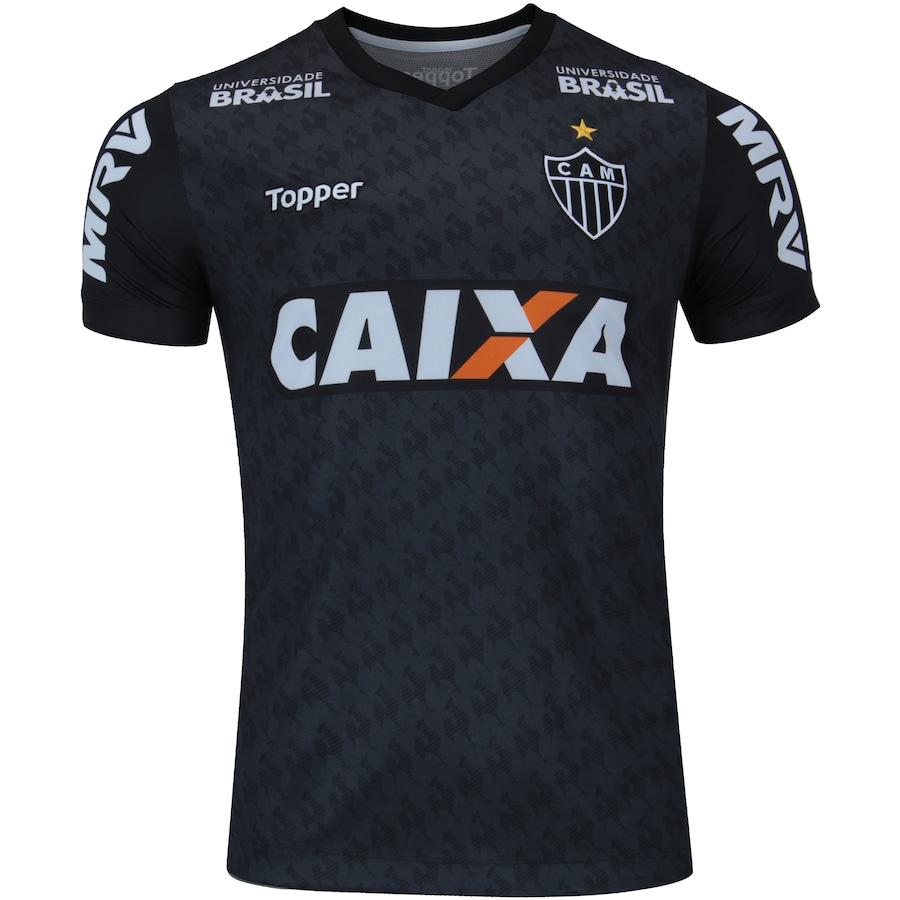 b850225d1 Camisa de Treino do Atlético-MG Comissão Técnica 2018 Topper - Masculina