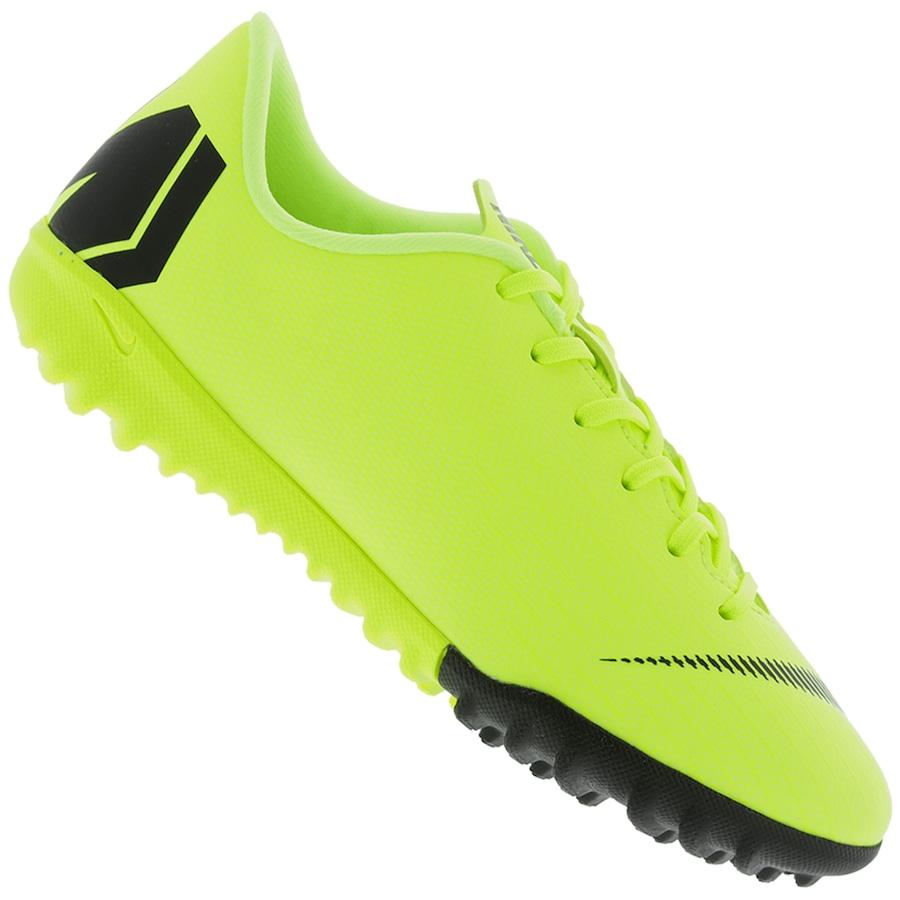 cf0738fdbc Chuteira Society Nike Mercurial Vapor X 12 Academy GS TF - Infantil ...