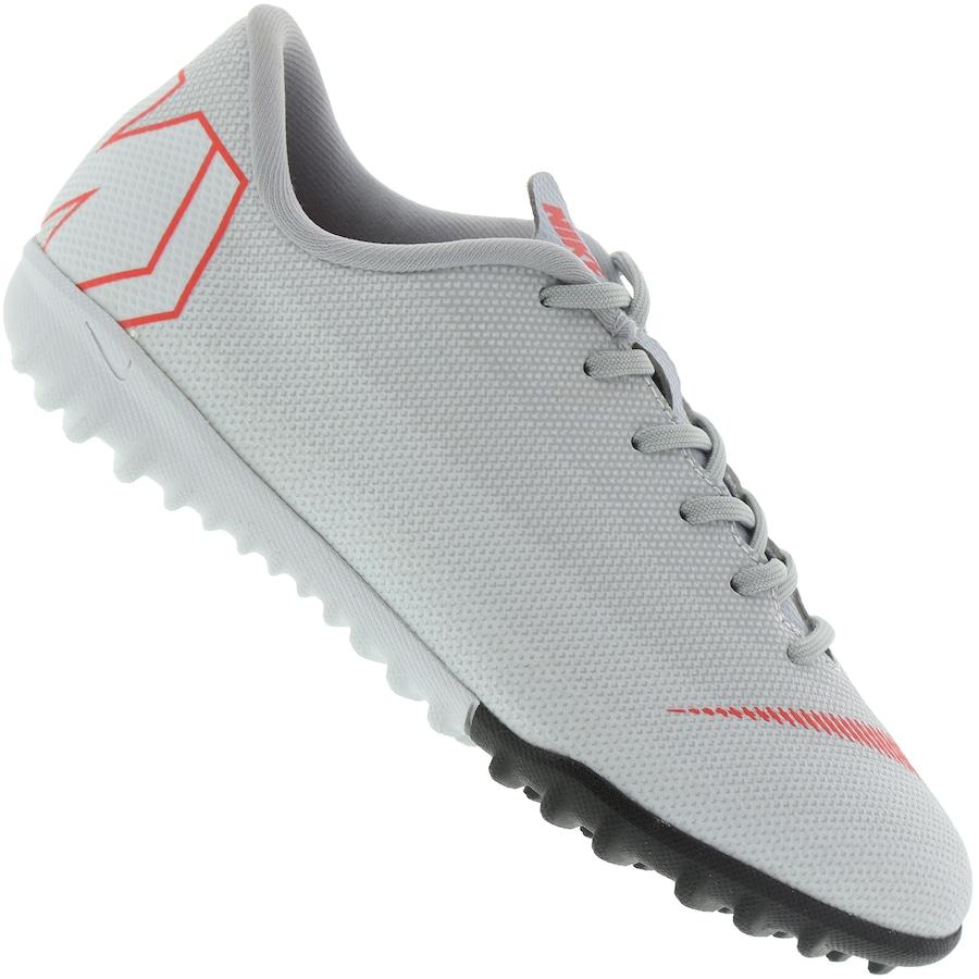 9e3c8a6842 Chuteira Society Nike Mercurial Vapor X 12 Academy GS TF - Infantil
