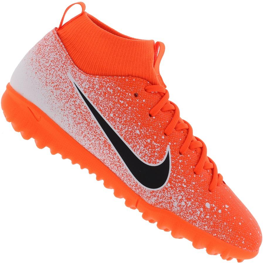 d8328ee2b1e9e Chuteira Society Nike Mercurial Superfly X 6 Academy GS TF - Infantil
