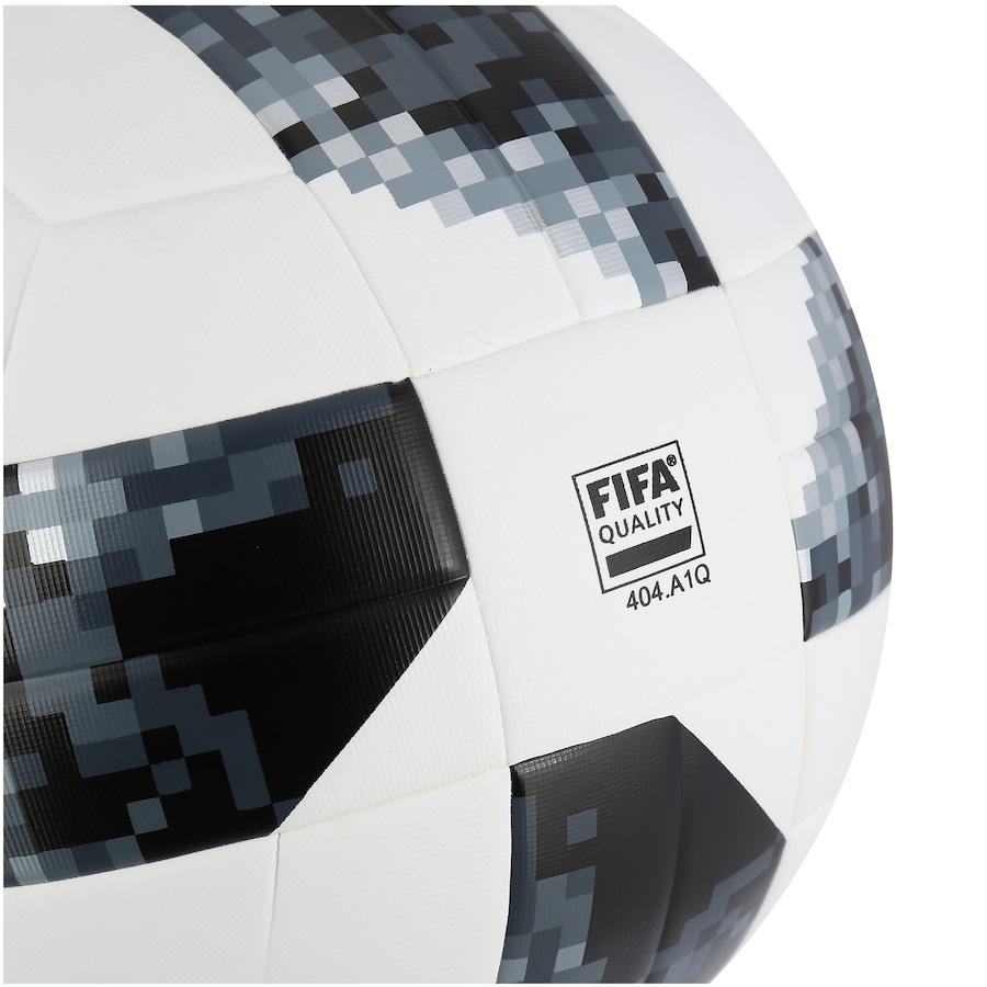 2fec64b62 ... Bola de Futebol de Campo Telstar Oficial Copa do Mundo FIFA 2018 adidas  Top Replique