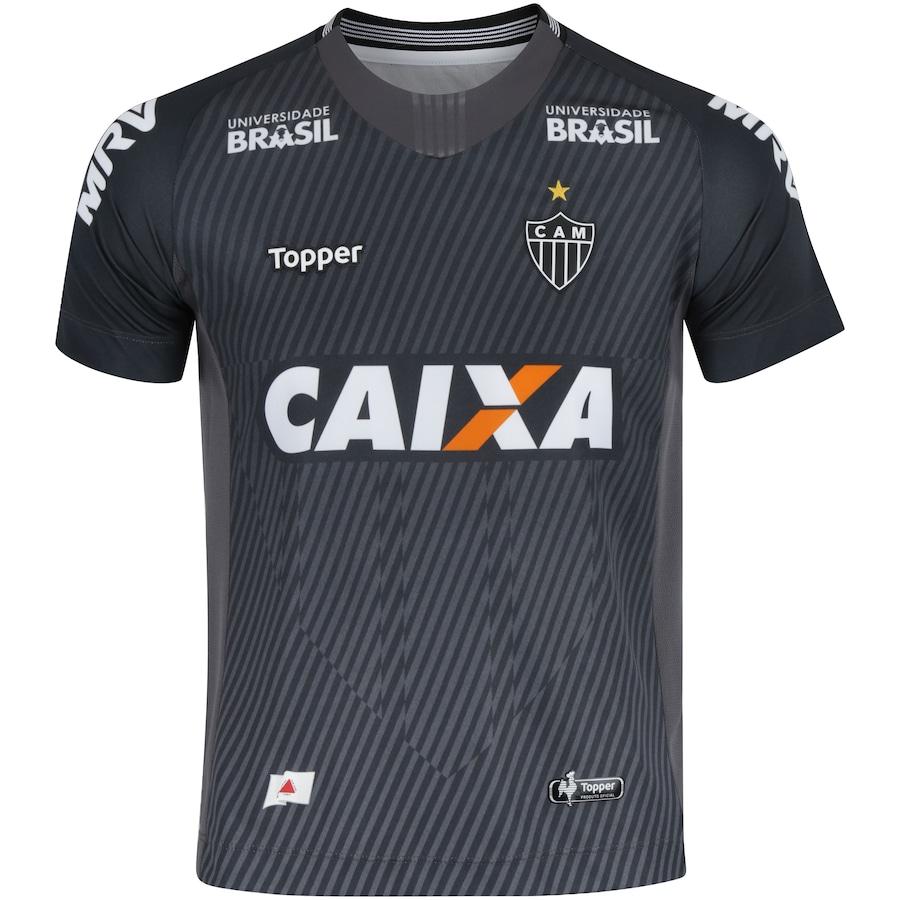 f88427e92fbbc Camisa de Goleiro do Atlético-MG I 2018 Topper - Infantil