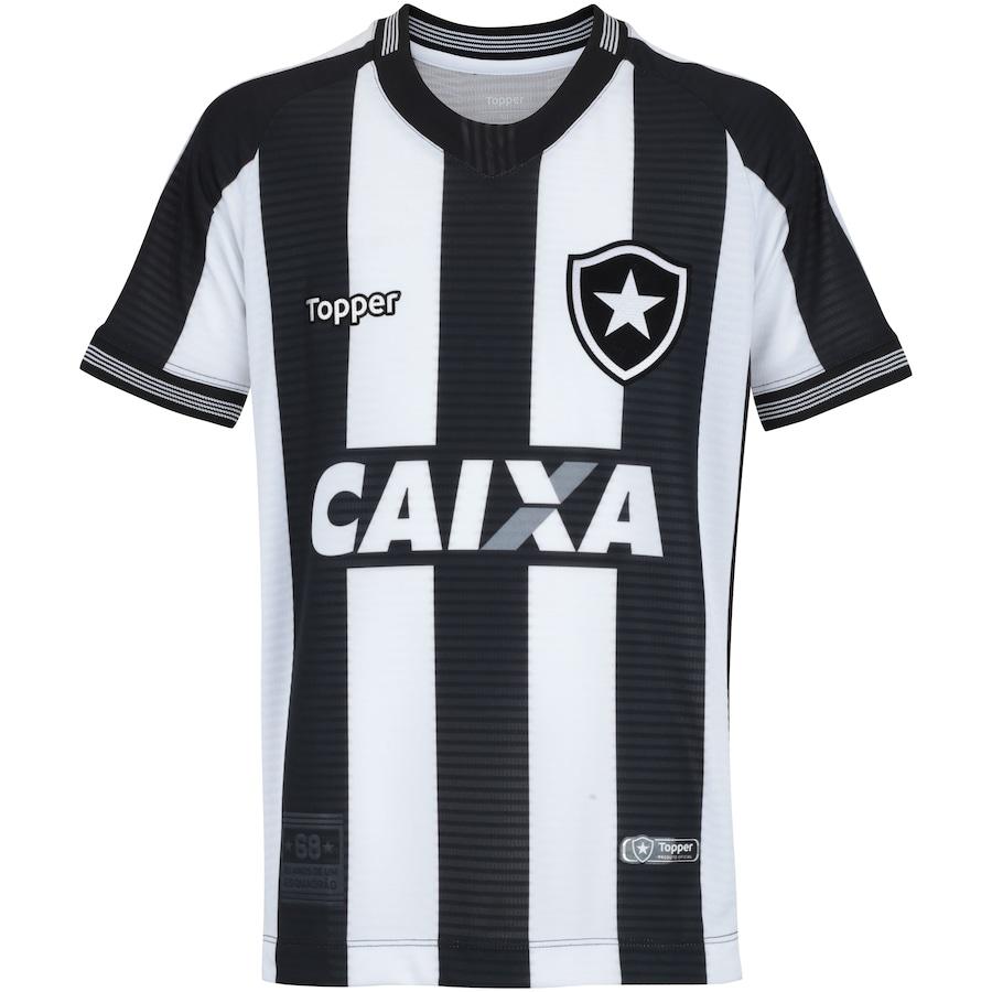 ea4c06c505c1b Camisa do Botafogo I 2018 Topper - Infantil