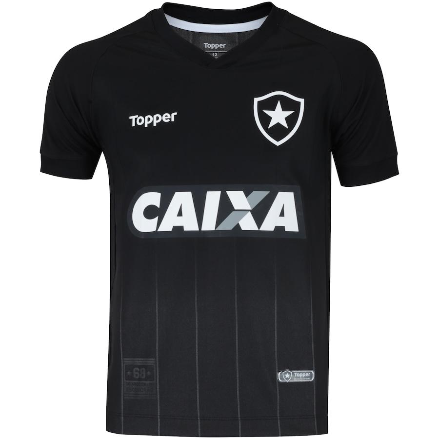 96641a7eb2 Camisa do Botafogo II 2018 Topper - Infantil