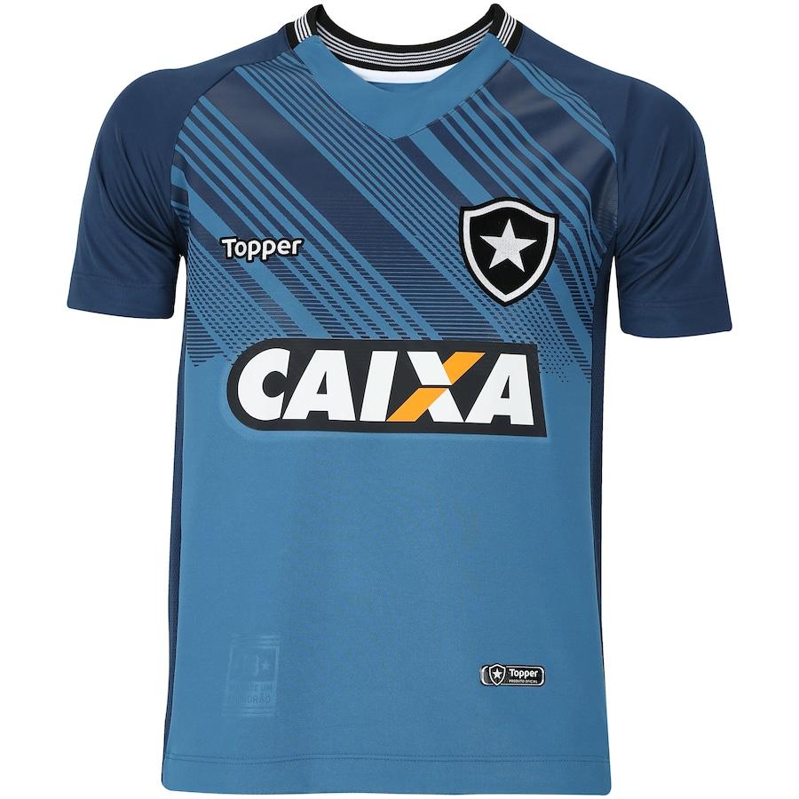 c78ef83c63425 Camisa de Goleiro do Botafogo I 2018 Topper - Infantil