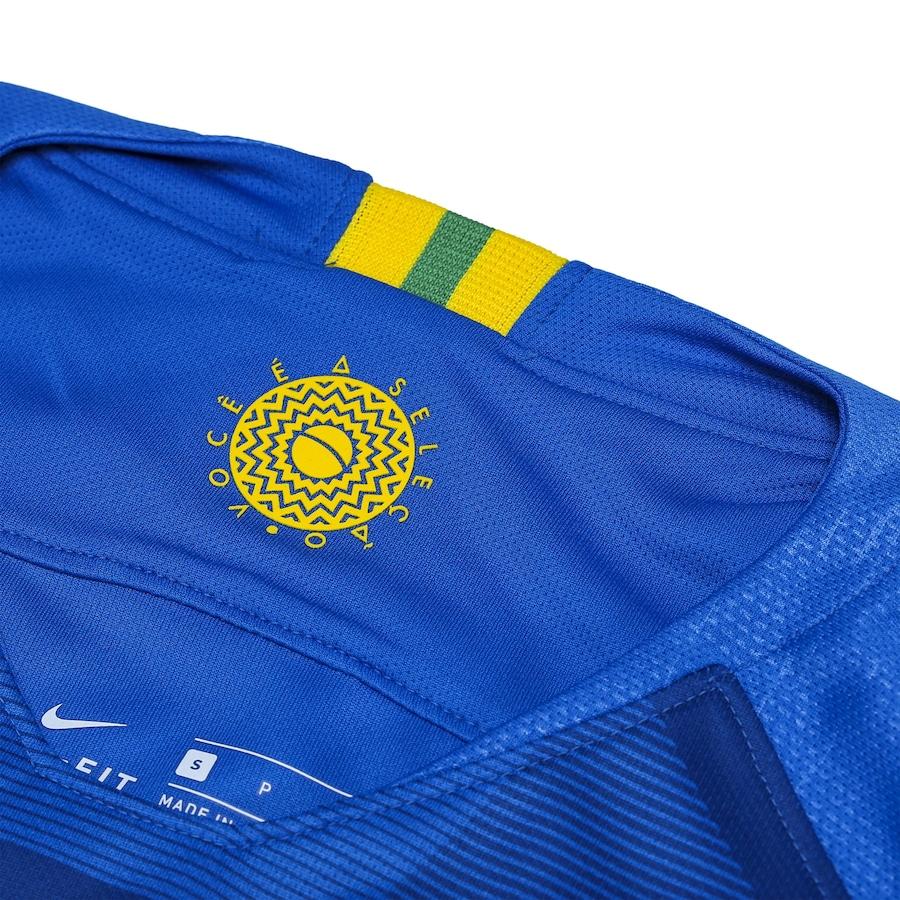 7a25735756 Camisa da Seleção Brasileira II 2018 Nike - Feminina