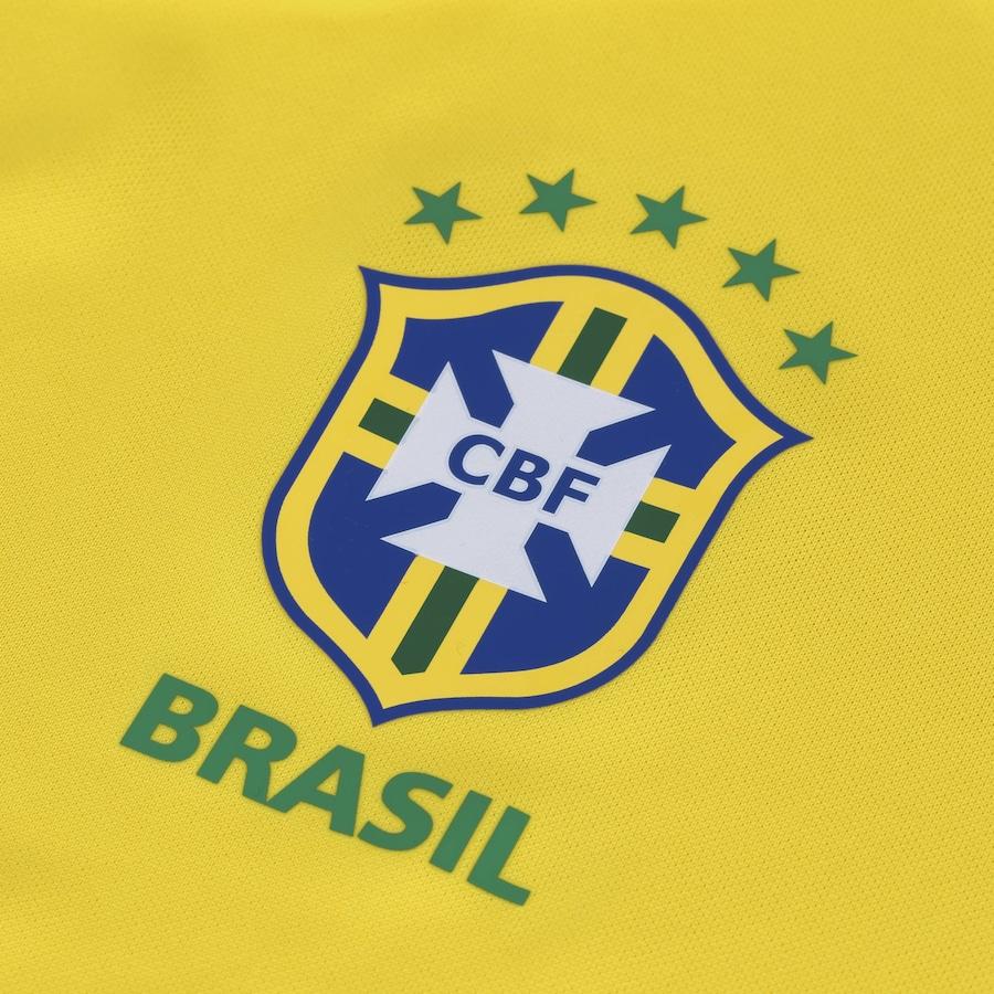 Camisa da Seleção Brasileira I 2018 Nike Torcedor - Feminina 298cdf4c401