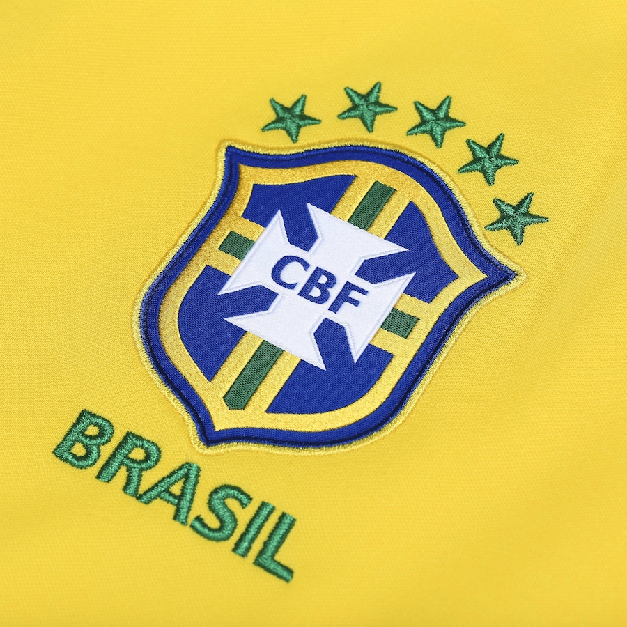 Jaqueta da Seleção Brasileira 2018 Hino Nike - Masculina ce6cd7f2b4b