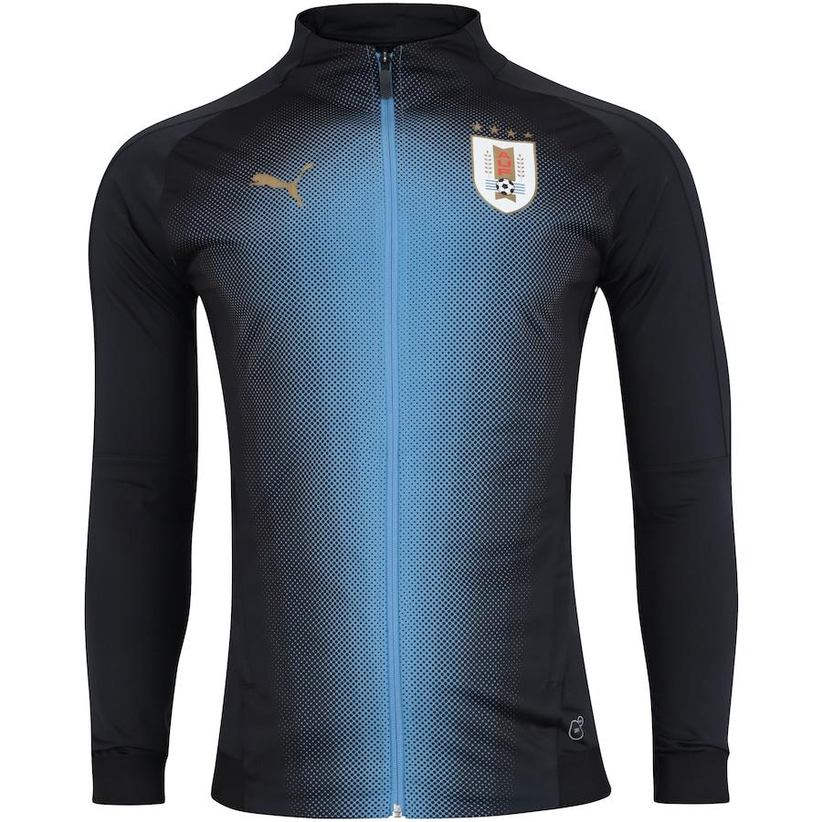 Jaqueta Uruguai 2018 Stadium Puma - Masculina fd5d560a3eaab