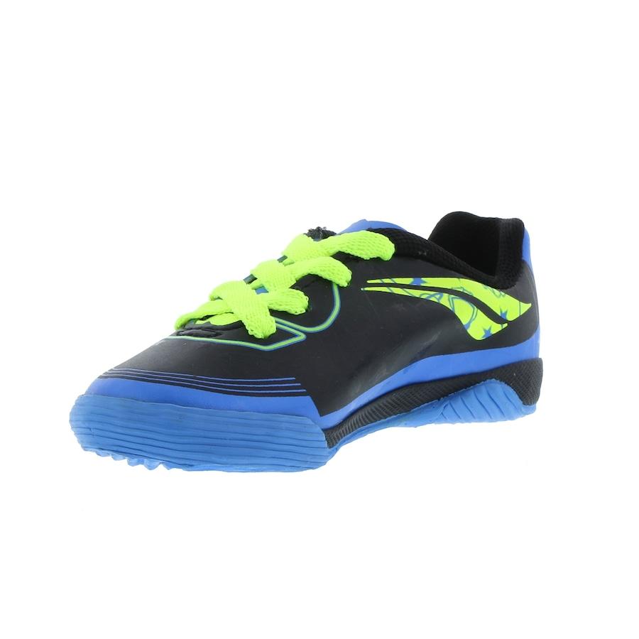 Chuteira Futsal Penalty Rocket VIII IC + Cartela de Adesivos - Infantil a447ec397404b