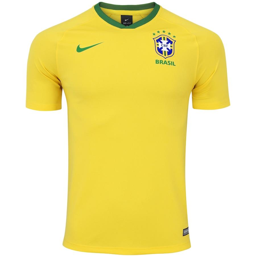 b75ffa9456 Camisa da Seleção Brasileira 2018 Nike - Torcedor