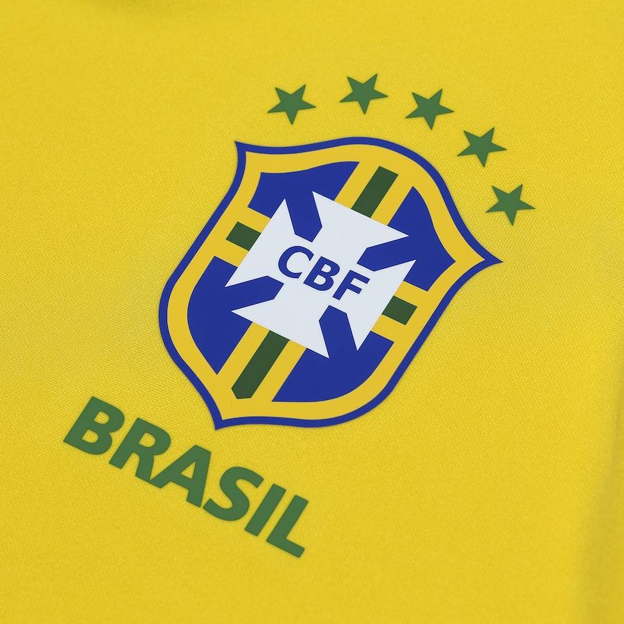 37b6bc8c2b1df Camisa da Seleção Brasileira 2018 Nike - Torcedor
