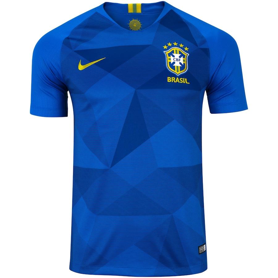 Camisa da Seleção Brasileira II 2018 Nike - Masculina d77c27b57b6f3