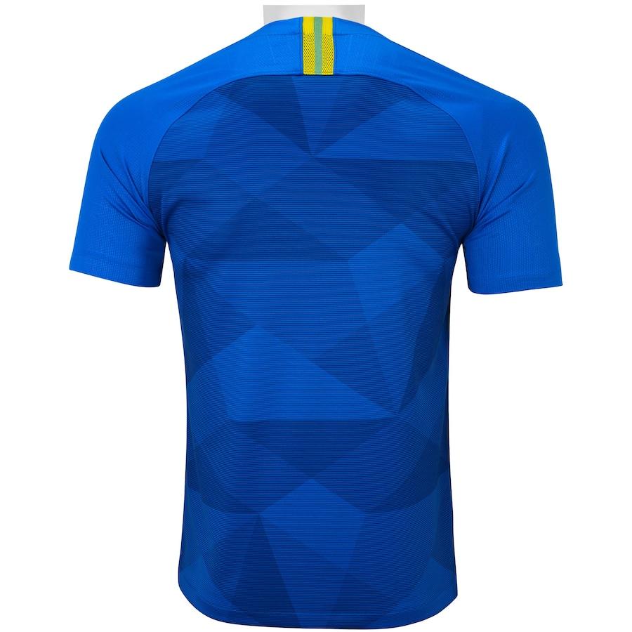 Camisa da Seleção Brasileira II 2018 Nike - Masculina 225ed22a500