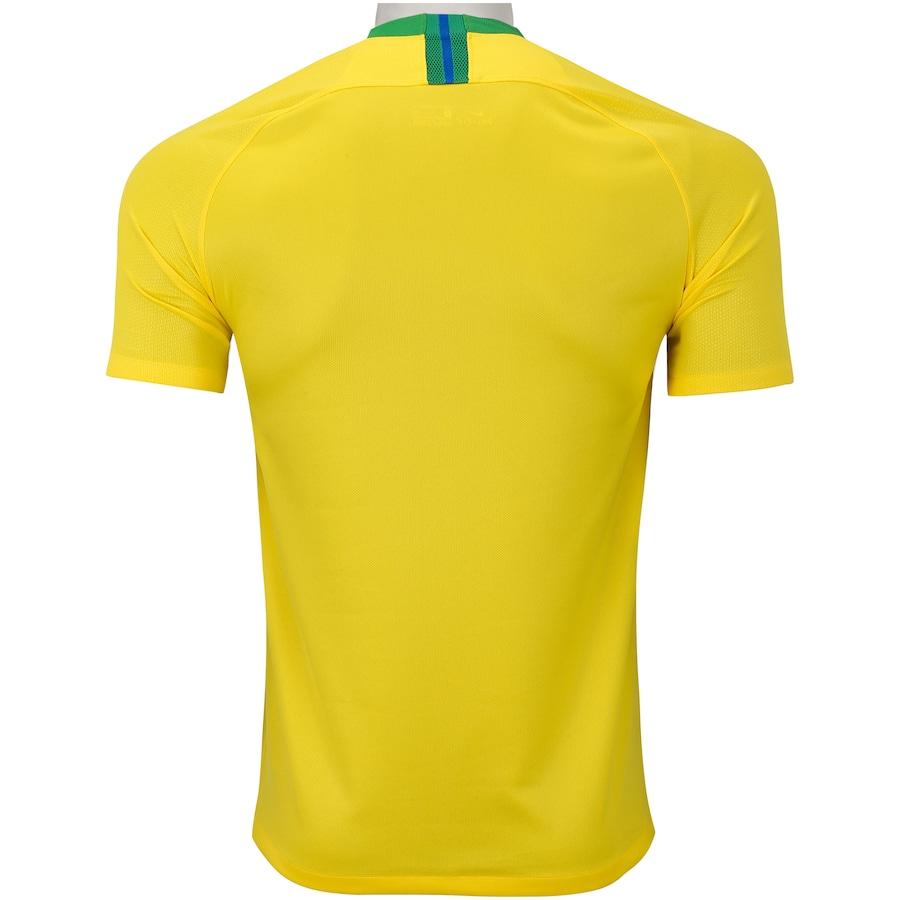 Camisa da Seleção Brasileira I 2018 Nike - Masculina 46c47130ee578