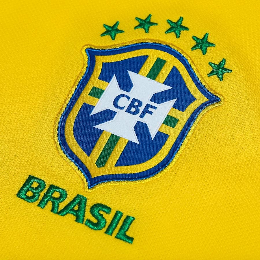 Camisa da Seleção Brasileira I 2018 Nike - Masculina 49425e57c232f
