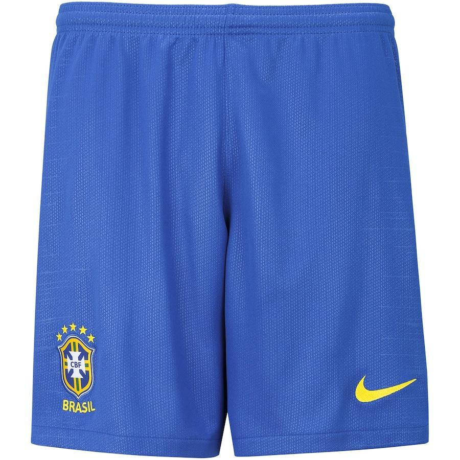 Calção da Seleção Brasileira I 2018 Nike - Masculino 0b14e6b57b3ff