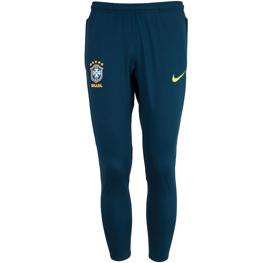 Calça de Treino da Seleção Brasileira 2018 Nike - Masculina 61bde02100