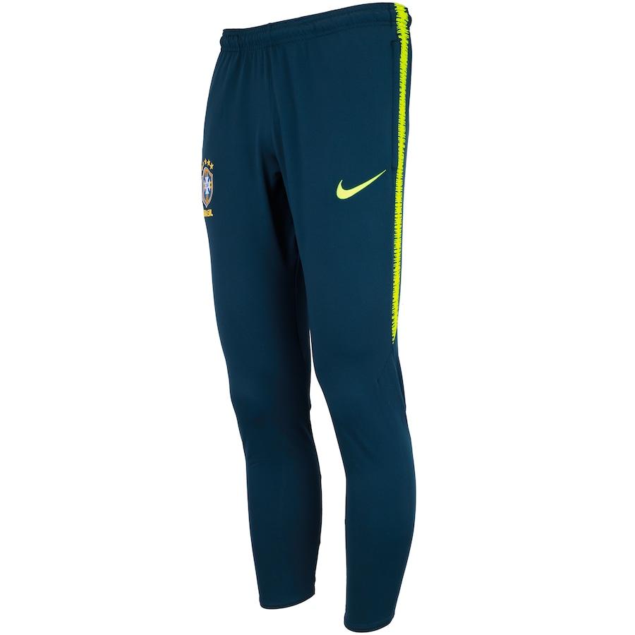 a787613f87 Calça de Treino da Seleção Brasileira 2018 Nike - Masculina