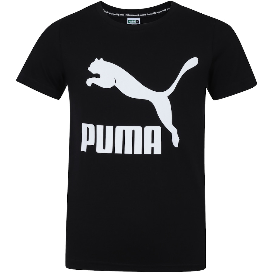 e0a4218f8ef Camiseta Puma Classic - Infantil