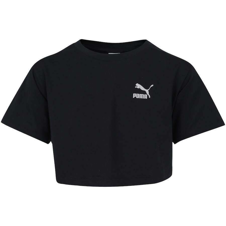 c41093860c1 Camiseta Puma Classics Trend Feminina - Infantil