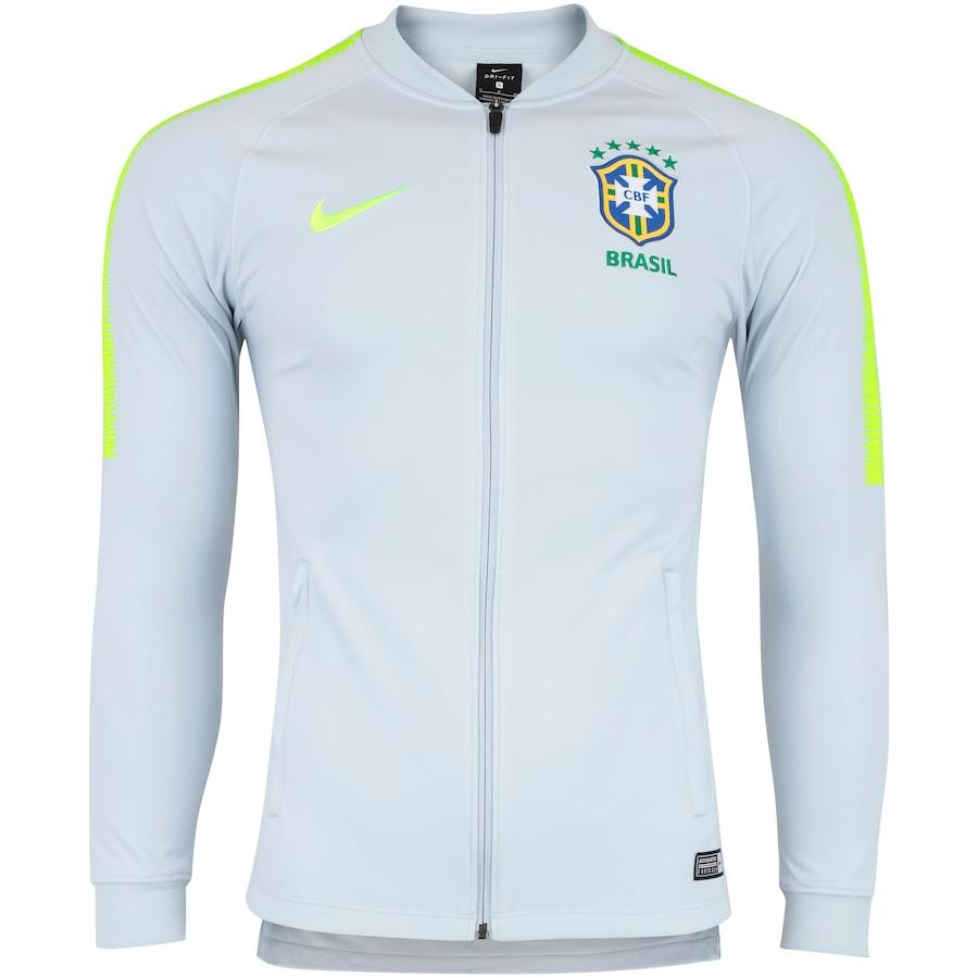 Agasalho de Treino da Seleção Brasileira 2018 Nike - Masculino d4014e22875a3