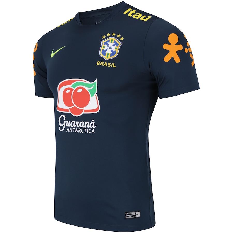 Camisa de Treino da Seleção Brasileira 2018 Nike - Masculina 0612d51723a17