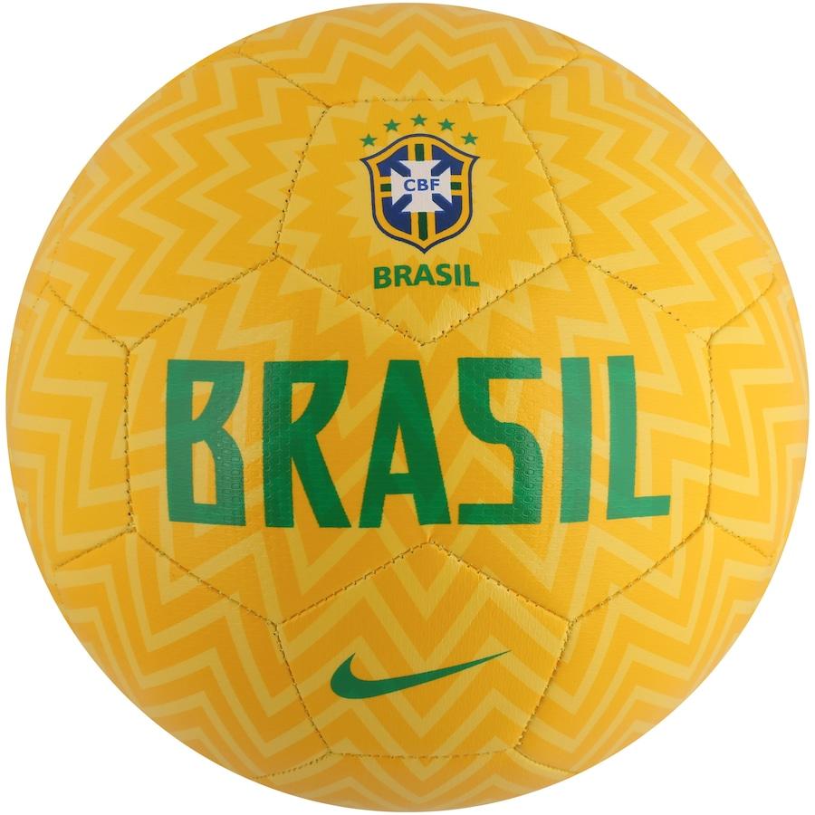 9942349232ace Bola de Futebol de Campo da Seleção Brasileira 2018 Nike Prestige