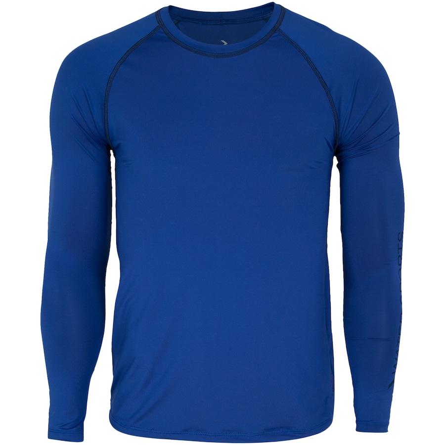 Camiseta Manga Longa com Proteção Solar UV Oxer Garden - Masculina 34db3d54df287