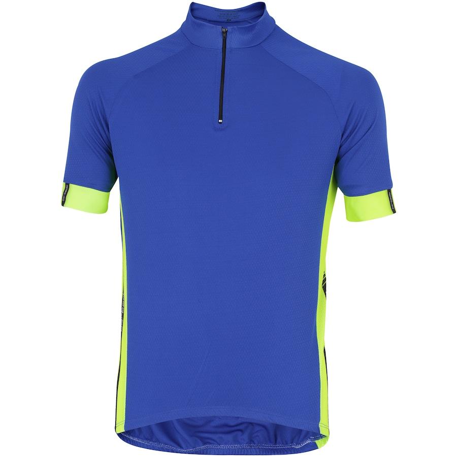 Camisa de Ciclismo com Proteção Solar UV Barbedo Blue Night - Masculina 28070f09a5e5d