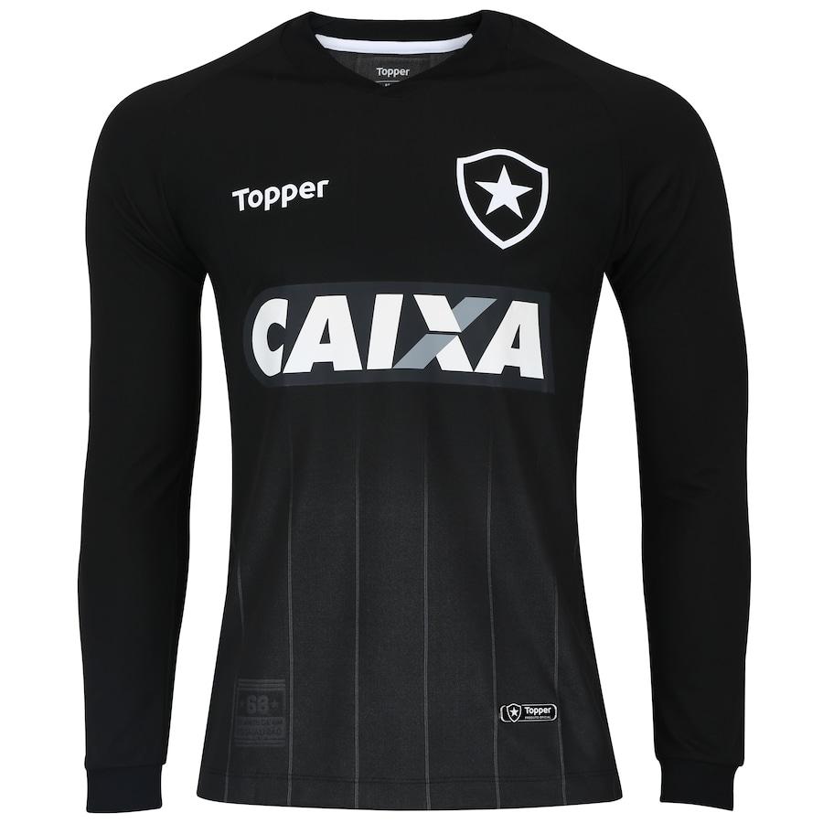 ca4ff7582e1b1 Camisa Manga Longa do Botafogo II 2018 Topper - Masculina
