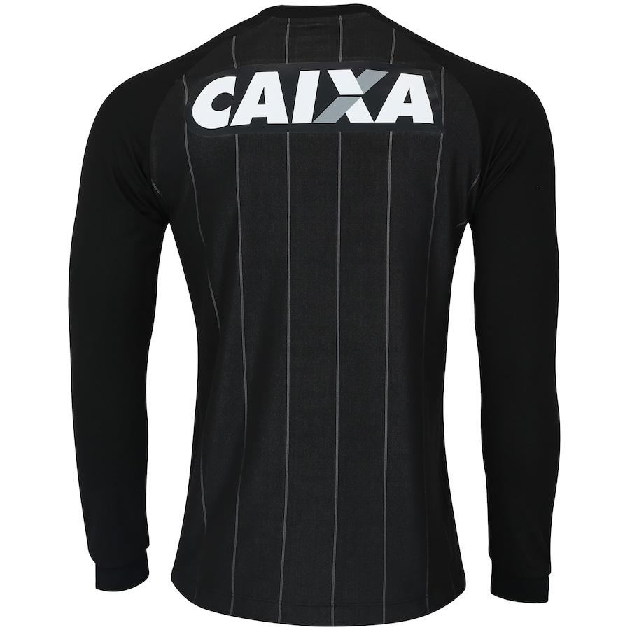 21405e589b Camisa Manga Longa do Botafogo II 2018 Topper - Masculina