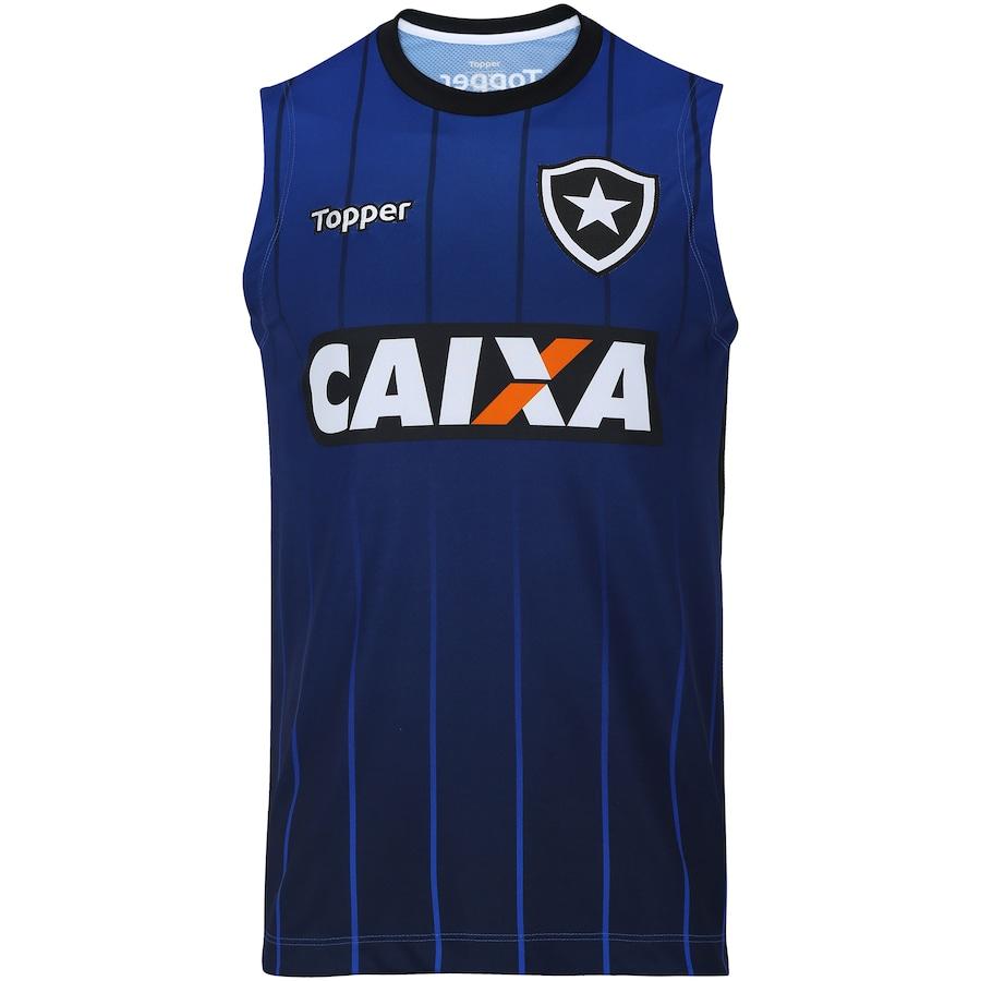 Camiseta Regata de Treino do Botafogo 2018 Topper - Masculina fa78c21ba8f90