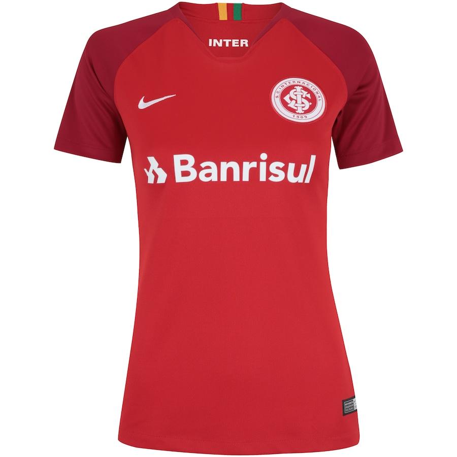 46ac2583 Camisa do Internacional I 2018 Nike - Feminina