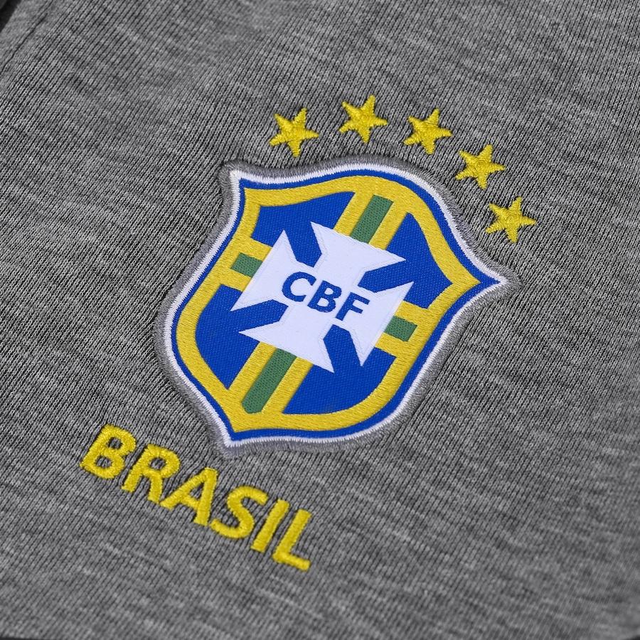 02a8c31c3f Jaqueta da Seleção Brasileira 2018 com Capuz Nike Sportswear Tech FLC -  Masculina