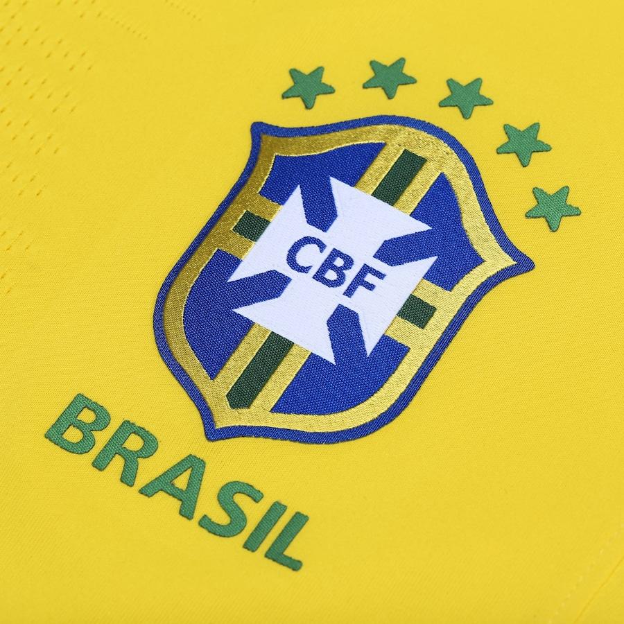 Camisa da Seleção Brasileira I 2018 Nike - Jogador 721ce3afbd155