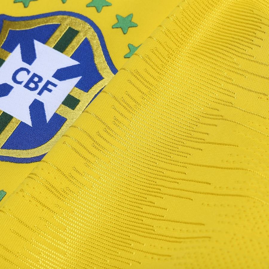 Camisa da Seleção Brasileira I 2018 Nike - Jogador 86269b39e6e2d