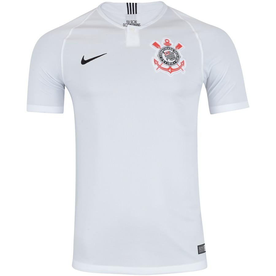 9980d193d9a35 Camisa do Corinthians I 2018 Nike - Masculina