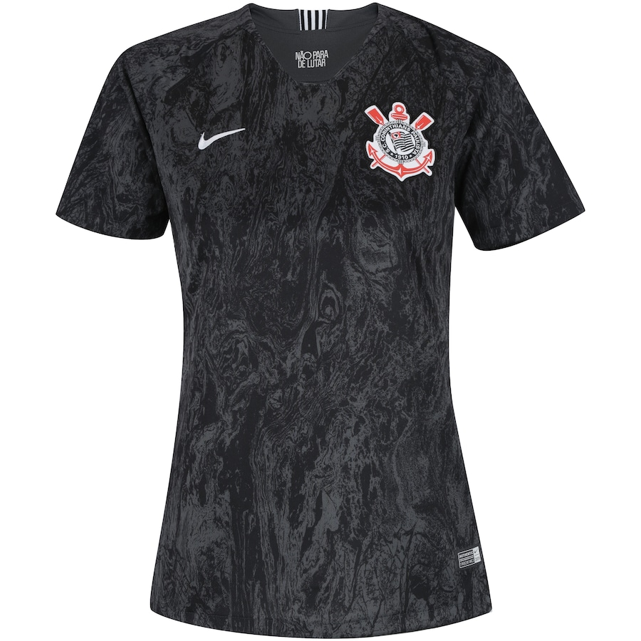 66469579f110f Camisa do Corinthians II 2018 Nike - Feminina