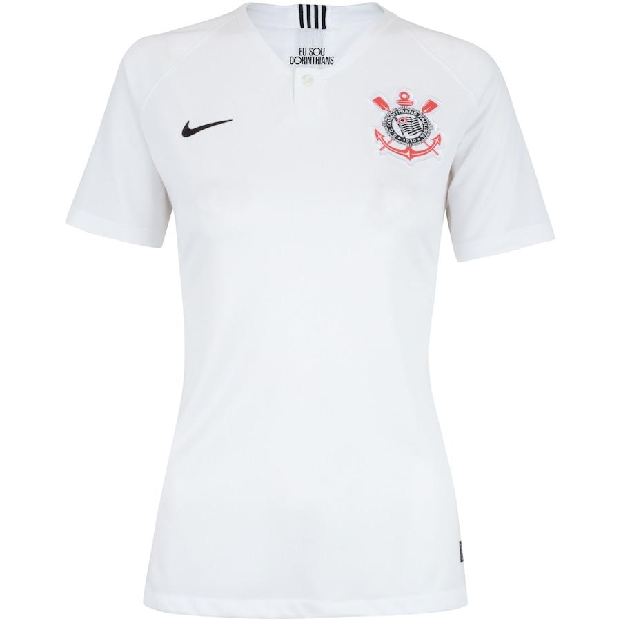 Camisa do Corinthians I 2018 Nike - Feminina c23b4b1c76fda